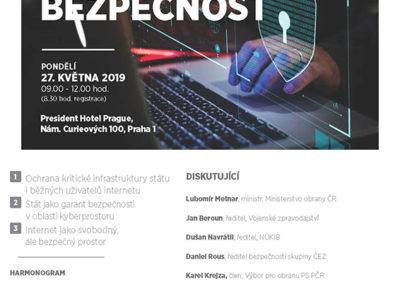 Pozvánka Kybernetická bezpečnost